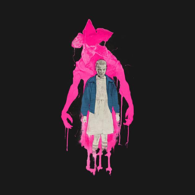 Stranger Things:  Eleven & The Monster