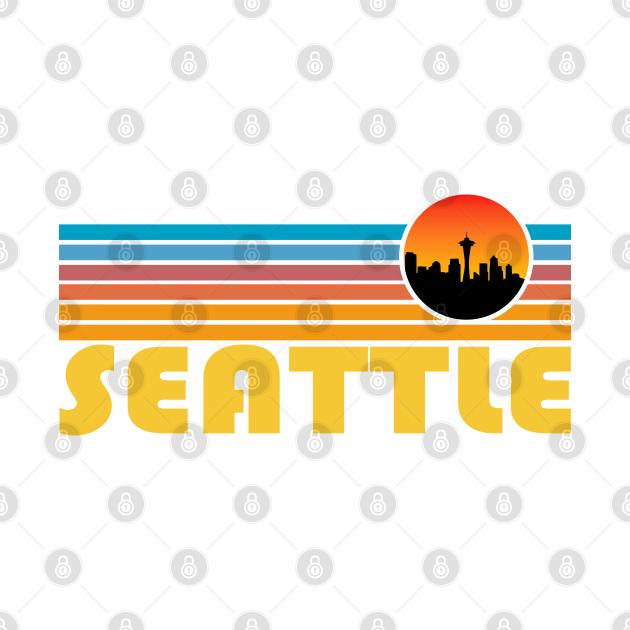 Seattle Hometown Retro