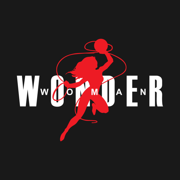 énorme réduction 3c49d d754f Wonder Woman Air Jordan Logo