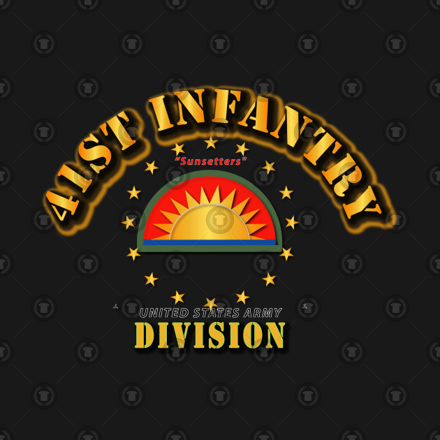 41st Infantry Division - Sunsetters