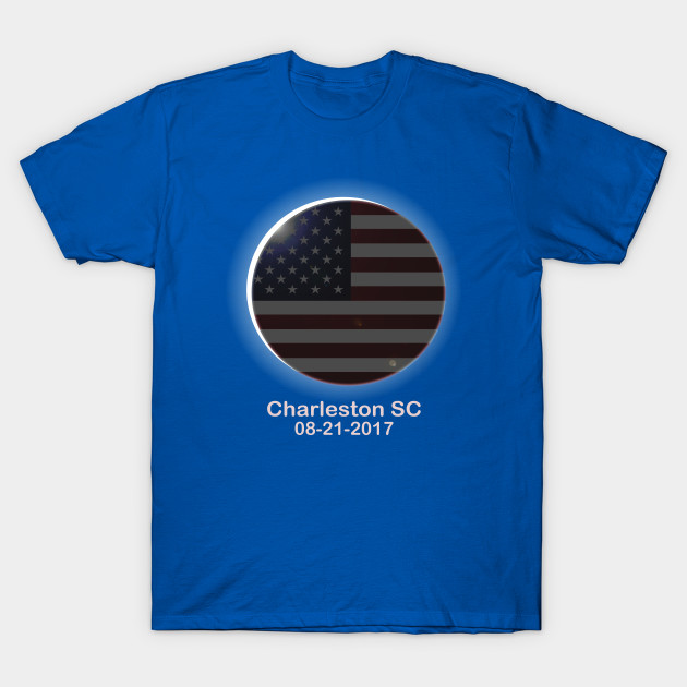 Total solar eclipse charleston sc august 21 2017 for T shirt printing charleston sc