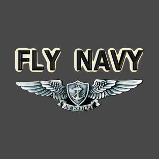Main Tag Enlisted Aviation Warfare Specialist Insignia T-Shirt