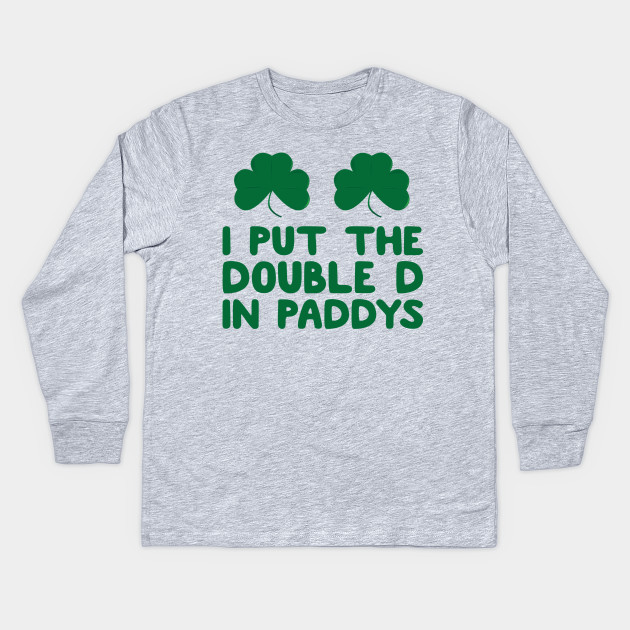 db44f8b0 Funny St Patrick's Day Irish Pub Crawl Day Drinking Shirt, The Craic, St  Paddys Day, St Pattys Day Apparel Kids Long Sleeve T-Shirt