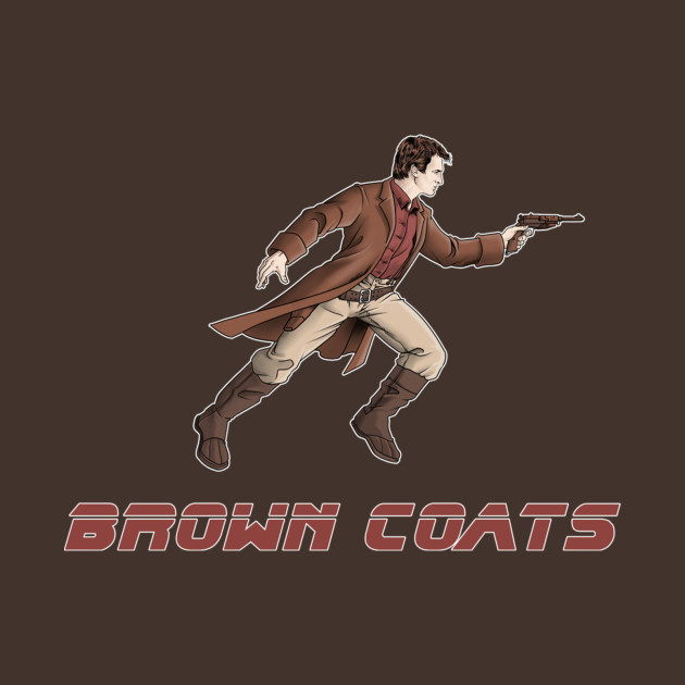 Brown Coat Or Blade Runner T-Shirt