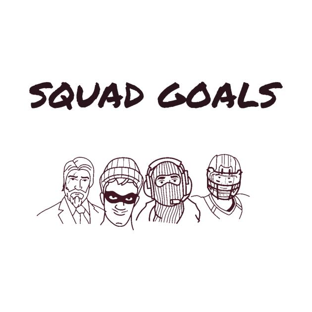 Squad goals/gaming meme #1