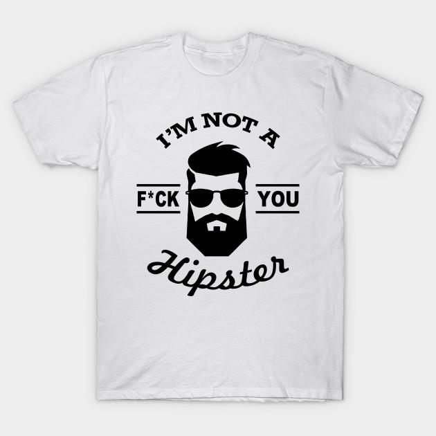 Hipster Beard Fuck You