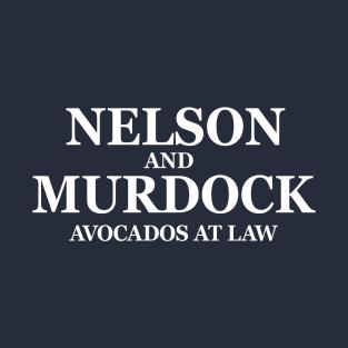 Avocados at Law t-shirts