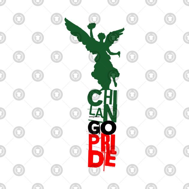 Chilango Pride Logo Mexican Flag Version Mexico City Onesie