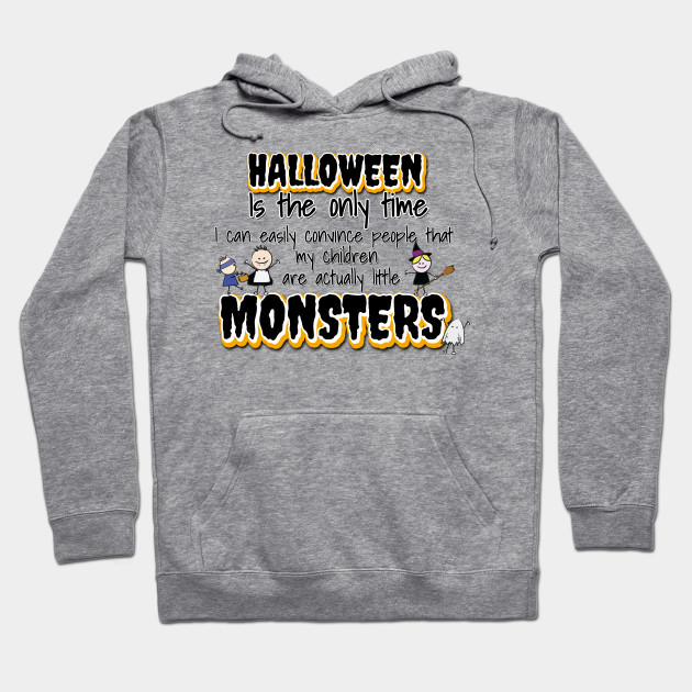 Halloween's Little Monsters Hoodie