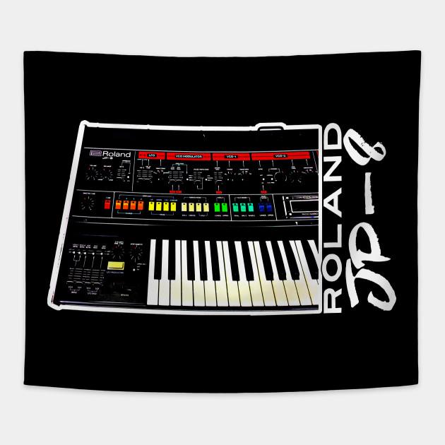 Roland Jupiter 8 Analog Synth Art