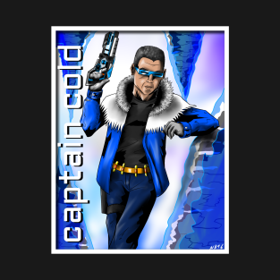 Captain Cold Gifts And Merchandise Teepublic