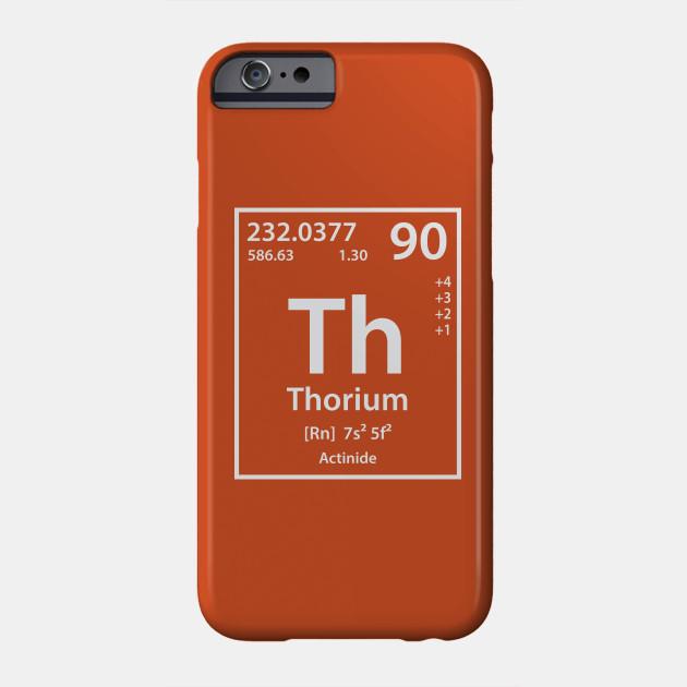 Thorium Element Thorium Phone Case Teepublic
