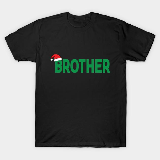 Brother Christmas Santa Family Matching Pajamas Gift T-Shirt T-Shirt c9f9218da