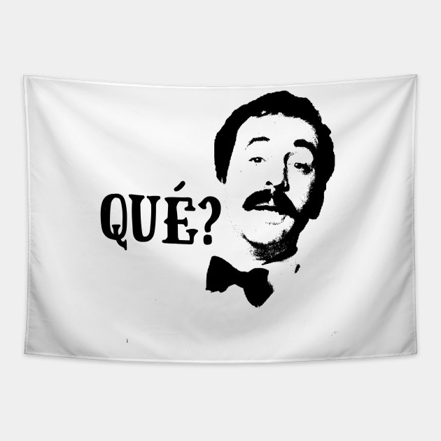 Qué? Manuel Fawlty Towers Quote & Graphic