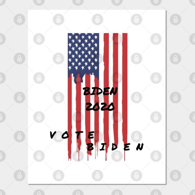 Joe Biden President Usa 2020 Joe Biden For President Posters And Art Prints Teepublic