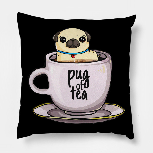 'Pug of Tea' Cute Tea Lover Gift