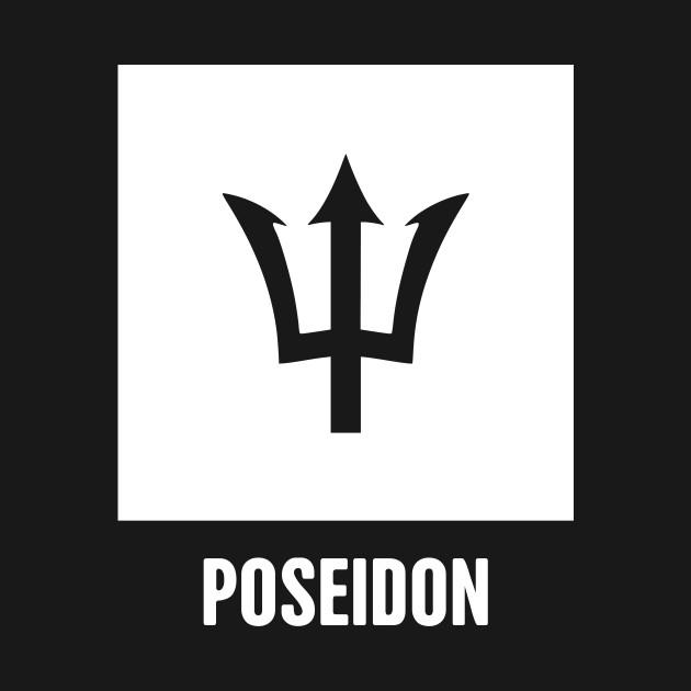 Poseidon | Greek Mythology God Symbol - Greek Mythology ...