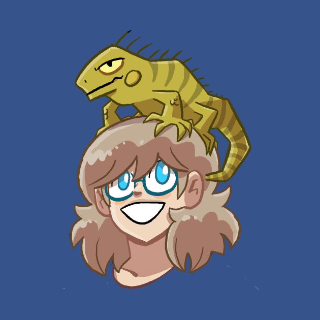 Iguana on your head!