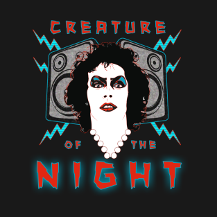Creature of the Night t-shirts
