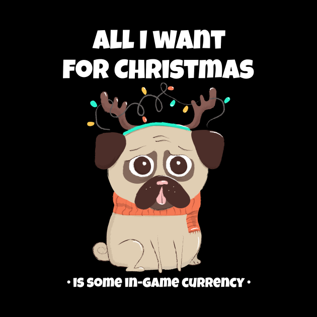 All I want for X-mas is in-game currency