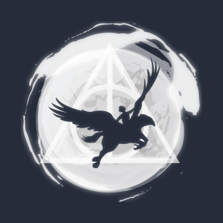 FLYING WITH BUCKBEAK IN THE MOONLIGHT t-shirts