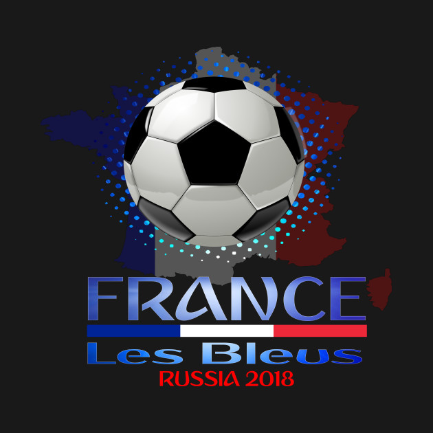 9c69ffd47b4 ... France World National Football Cup Russia 2018 France Soccer Team Allez  Les Bleus
