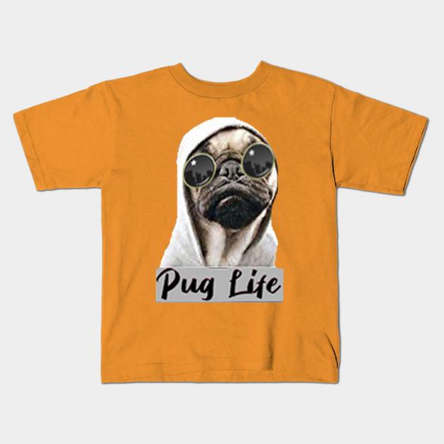 Pug Life Funny Crewneck Sweatshirt Dope Thug Life Dog Parody Hipster Sweatshirt