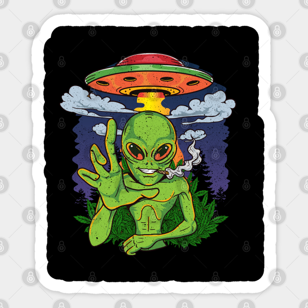 Comic Poster Gift Top Take Me To Your Dealer Hoodie Funny Alien Stoner Weed