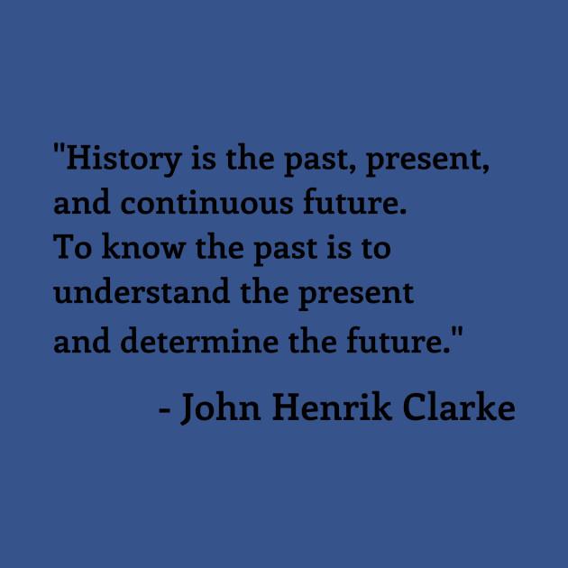 John Henrick Clarke Quote Podcast Crewneck Sweatshirt Teepublic