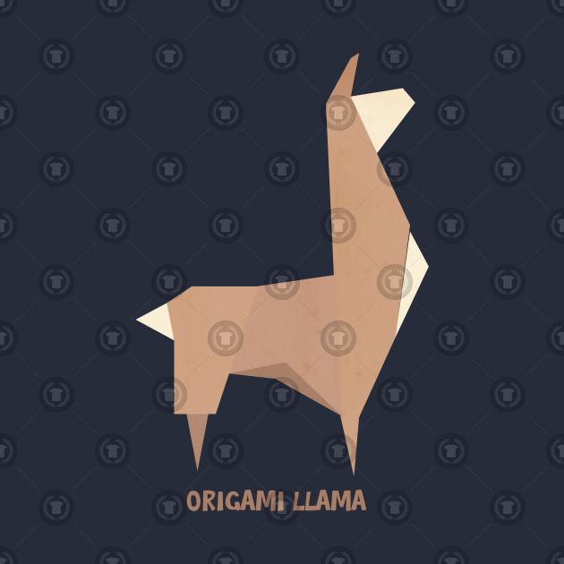 Origami Llama Llama T Shirt Teepublic