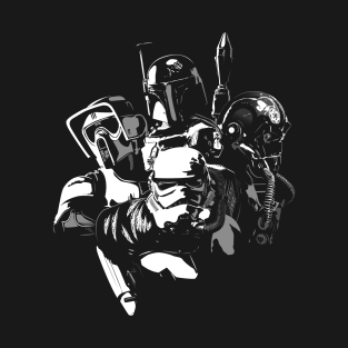 Space_Hunters t-shirts