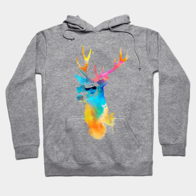 DEER Stag hunting shooting stalking hoodies birthday Xmas HOODIES S-XXL