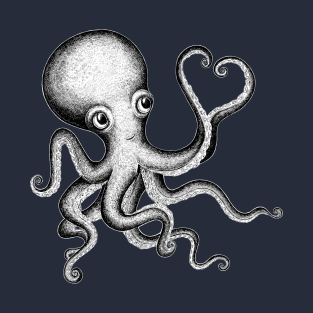 Loving Octopus t-shirts