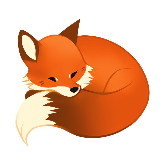 Fox sleeping.