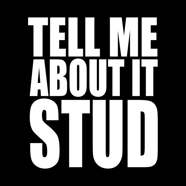 Grease Tell Me About It Stud Quote Wall Art Print