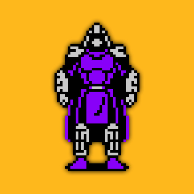 Shredder low-res pixelart