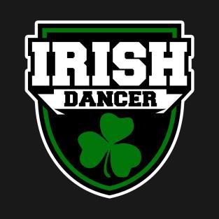 aa629b6f6 Irish Dance Badge - Shamrock (Kids) Kids T-Shirt