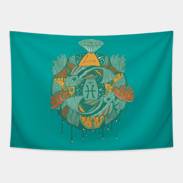 Mountain Green Mystic Pisces Motion