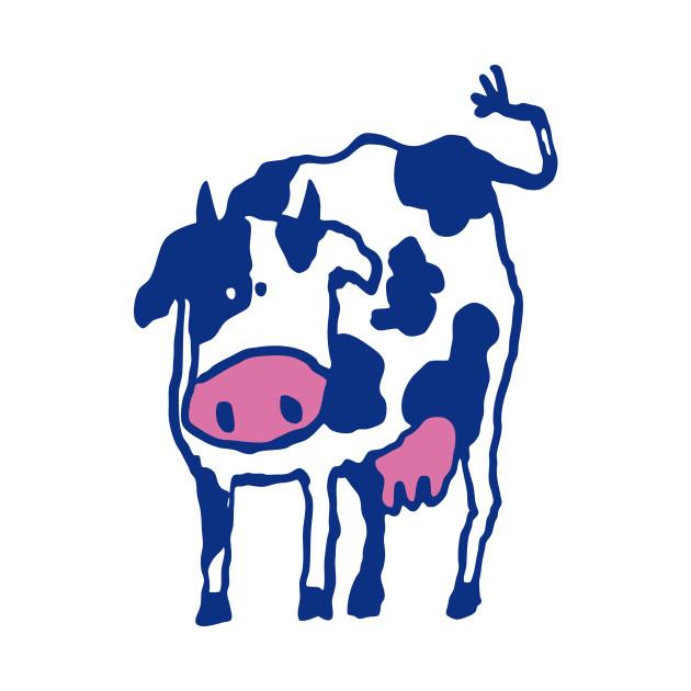 Holstein Cow Breed Artwork
