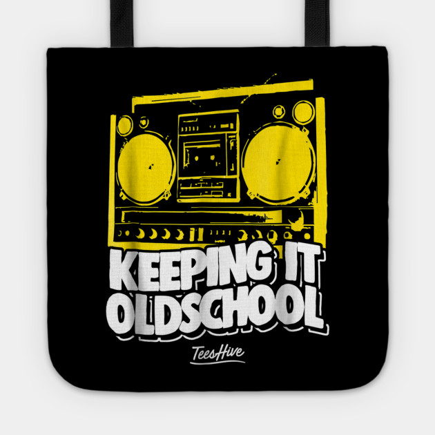 Keeping It Old School 80s Music 90s Music Boombox T Shirt