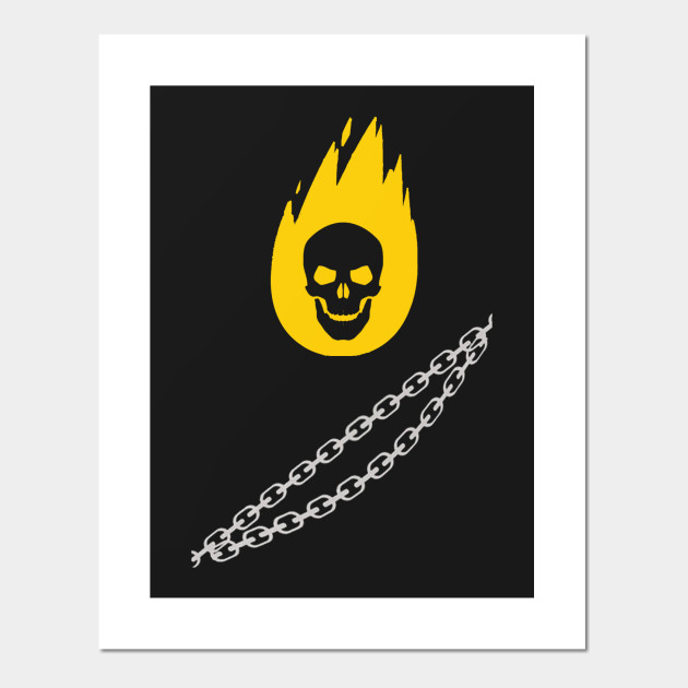 Ghost Rider Ghost Rider Posters And Art Prints Teepublic