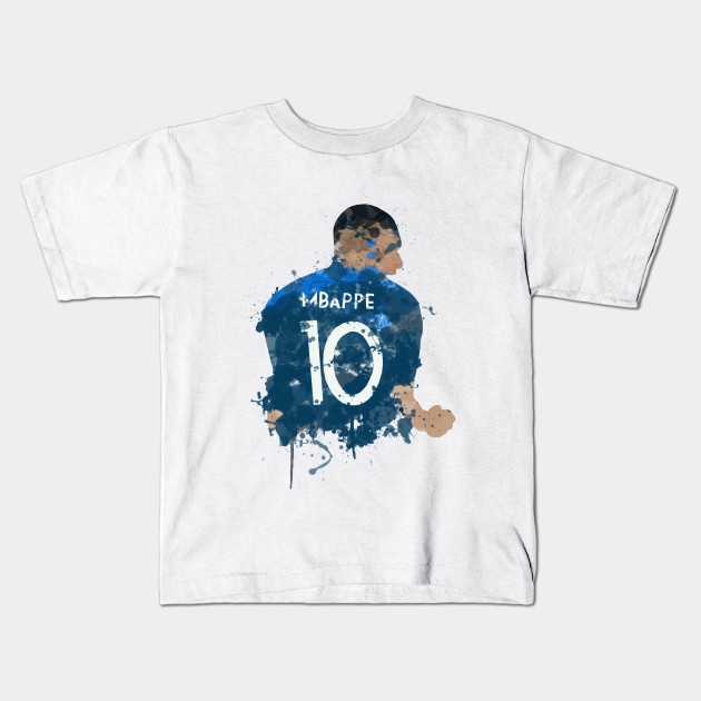 d77a2a0a7d6 Kylian Mbappe - French Hero - Mbappe - Kids T-Shirt
