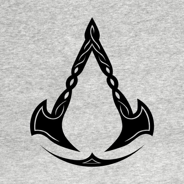 Valhalla Black Assassins Creed Long Sleeve T Shirt Teepublic