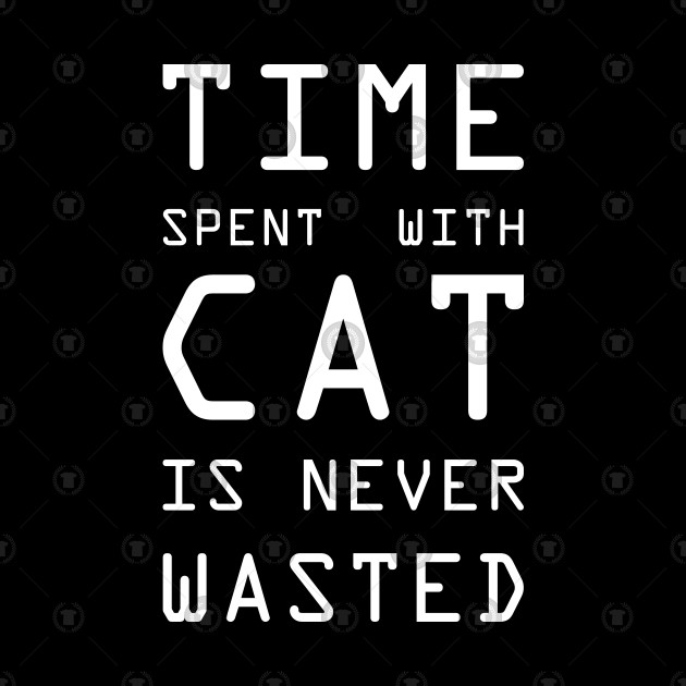 Time Spent With Cat Is Never Wasted