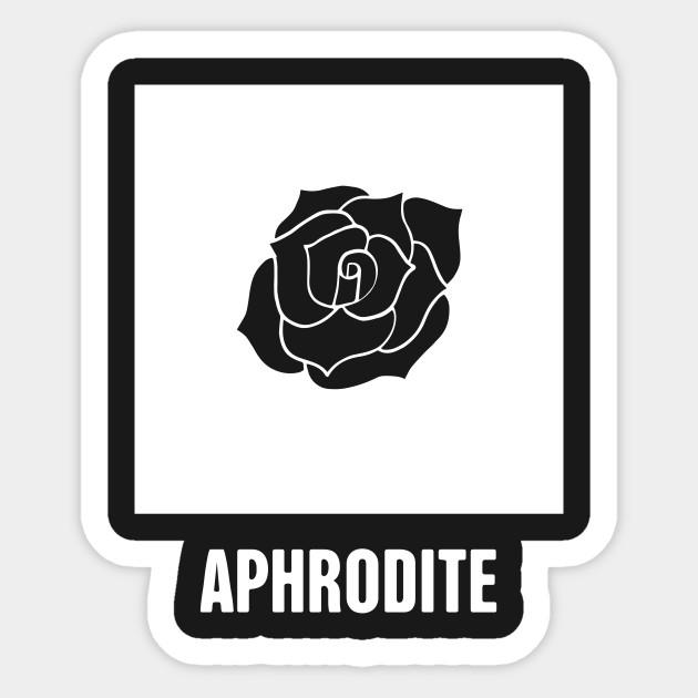 Aphrodite Greek Mythology God Symbol Greek Mythology Sticker