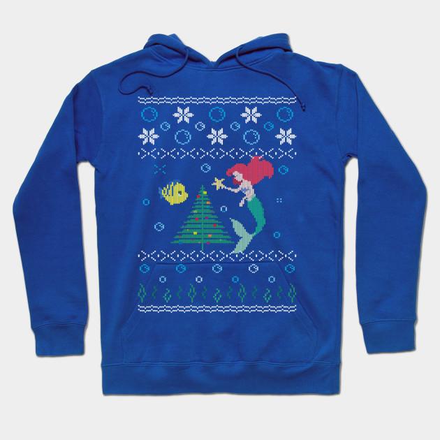 Ugly Christmas Sweater - The Little Mermaid - Ugly Christmas ...