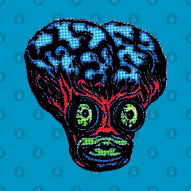 Wicker | Metaluna Monster Mask T-Shirt