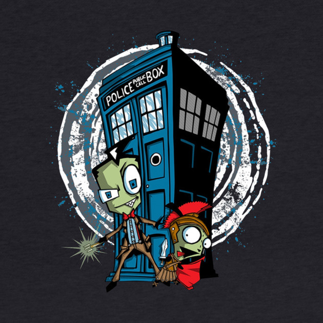 Invader Zim Meets Dr Who