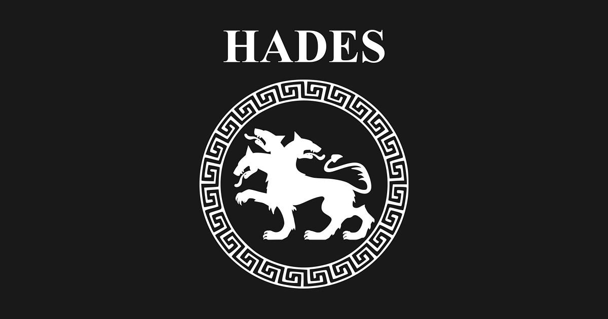 hades symbol coloring pages | Hades Ancient Greek God - Hades - T-Shirt | TeePublic