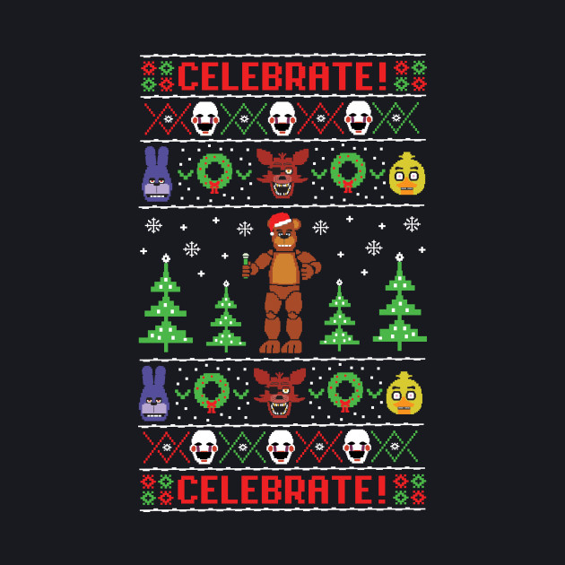 Five Nights At Freddy's Ugly Sweater